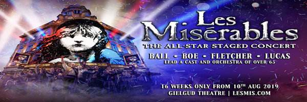 LES MISERABLES : THE ALL-STAR STAGED CONCERT