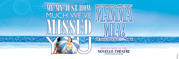 Tickets for Mamma Mia - Novello THEATRE, London