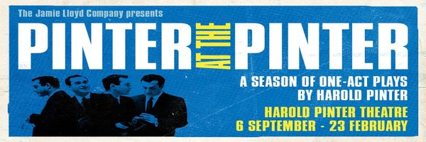PINTER AT THE PINTER-PARTY TIME/CELEBRATION