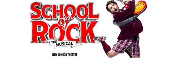 Tickets for School Of Rock- New London THEATRE, London