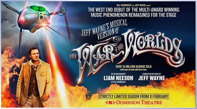 War of the Worlds - at Dominion Theatre in London