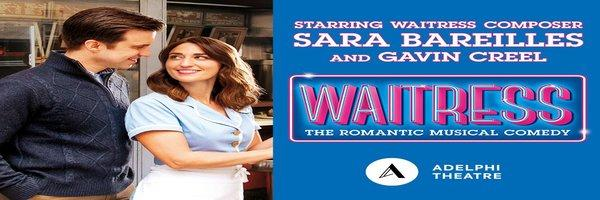 Tickets for Waitressl - Adelphi Theatre , London
